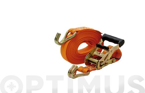 Ratchet trincaje con 2 ganchos cerrados 35 mm - 6 m