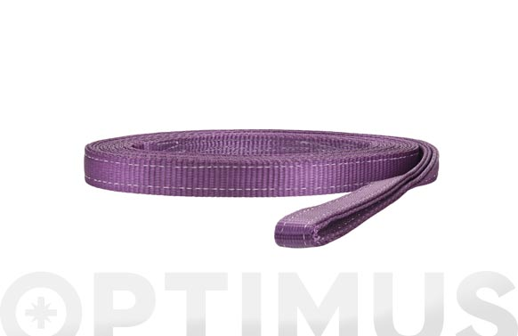 Eslinga plana doble 1 tn 30 mm/1 m violeta