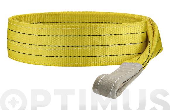 Eslinga plana doble 3 tn 90 mm/3 m amarillo