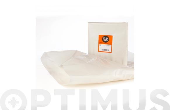 Saco polietileno g-300 10 uds 55x75 cm blanco