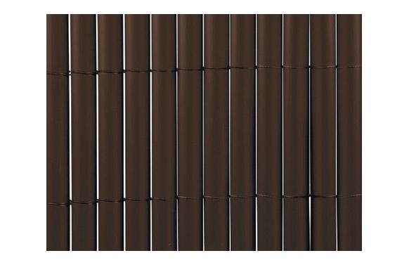 Cañizo sintetico pvc plasticane oval chocolate 1,5 x 3 m