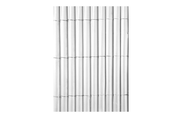 Cañizo sintetico pvc plasticane oval  blanco 1,5 x 3 m