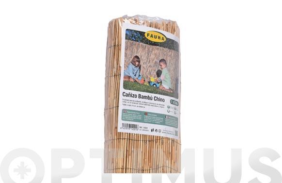 Cañizo bambu pelado 1,5 x 5 m
