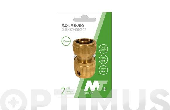 Conector enlace rapido laton ø19 mm
