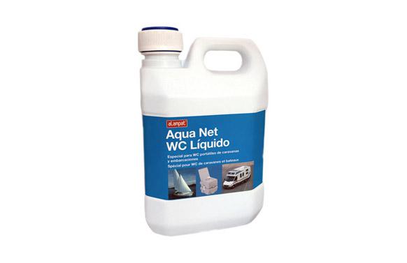 Liquido para wc quimicos aquanet 2 l