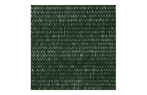 Malla ocultacion pe/rf 80. 1,5 x 10 m verde oscuro