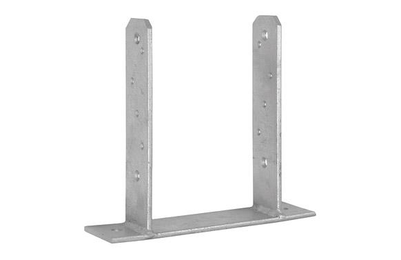 Anclaje poste forma tt  71 x 200 x 160 mm