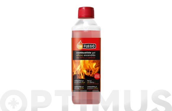 Combustible gel 500 ml