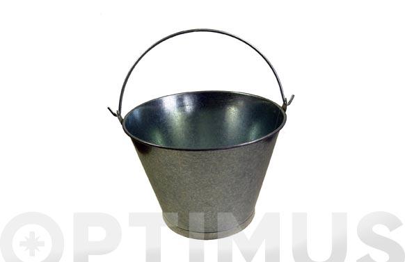 Cubo galvanizado conico 12 l