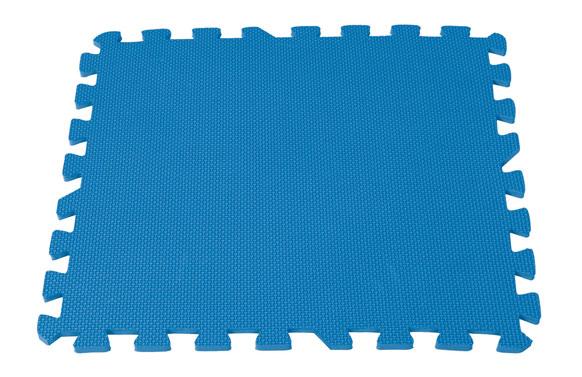Loseta de tapiz proteccion piscina 50x50 9 piezas 2,25 m2