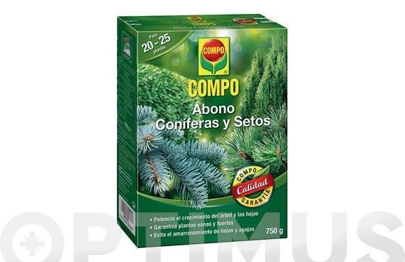Abono coniferas y setos 750 gr