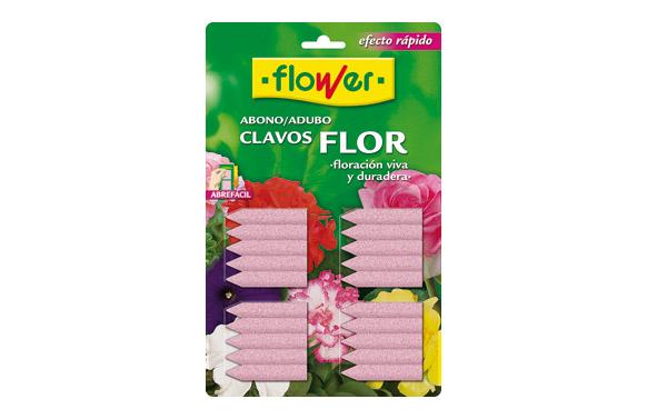 Abono clavos para flores 20 uds