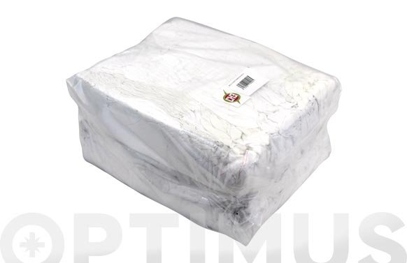 Trapo limpieza sabana blanco 10 kg