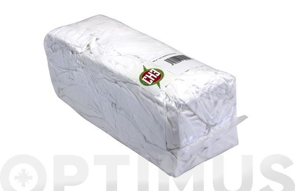 Trapo limpieza sabana blanco 1 kg