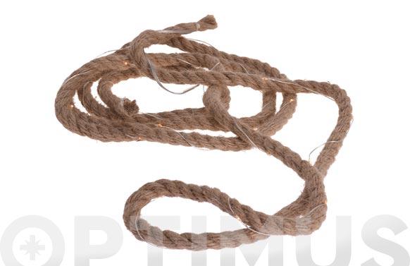 Cuerda leds a pilas 3 m ø 1 cm