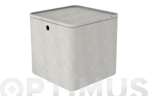 Caja beton cube xs 3l gris cemento
