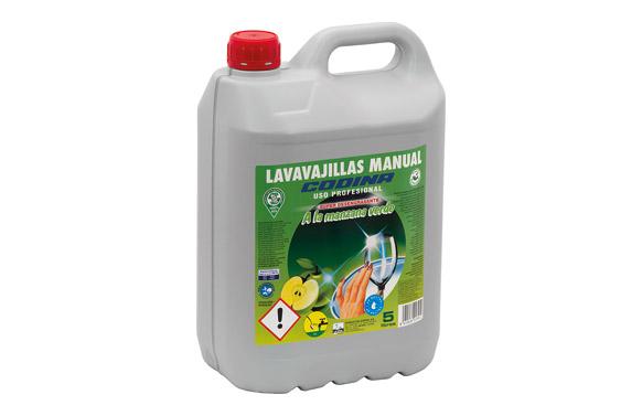Lavavajillas manual profesional 5 l manzana verde
