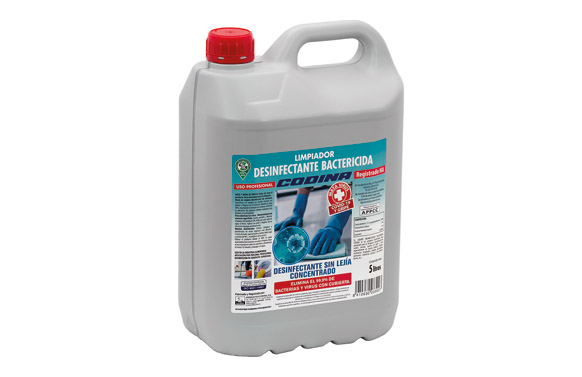 Limpiador desinfectante sin lejia profesional 5 l