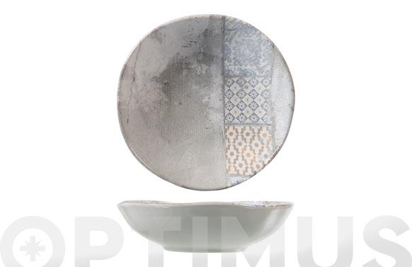 Plato stoneware malaga hondo 20 cm
