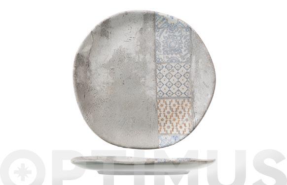 Plato stoneware malaga postre 20 cm