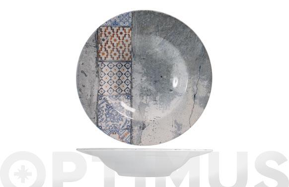 Plato stoneware malaga pasta 28 cm