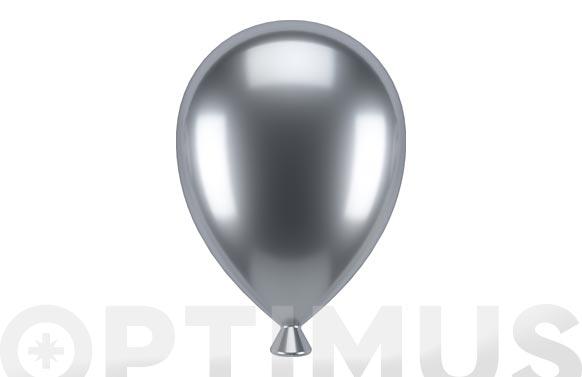 Portafotos globos set 3 uds cromado