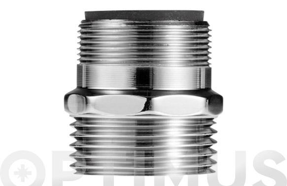 Adaptador grifo a conector riego con filtro aire