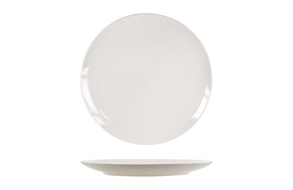 Plato new bone china coupe llano 27 cm