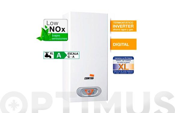 Calentador estanco low nox 10 l/m gas natural