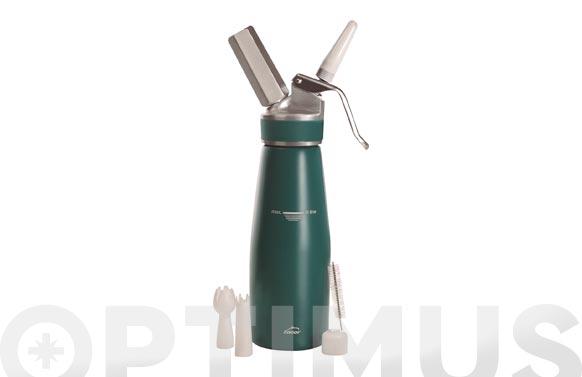 Sifon aluminio lacor 0.5l-verde