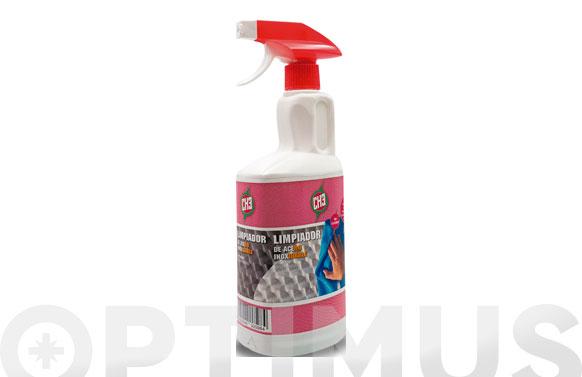 Limpiador acero inoxidable 750 ml pulverizador