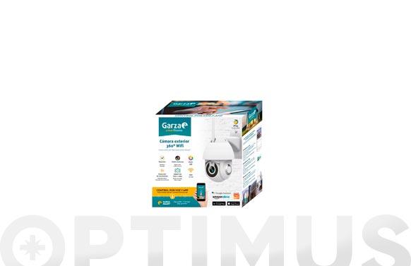 Camara exterior smart wifi 360. 1080 p hd