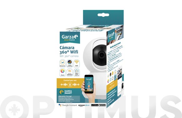 Camara interior ip smart wifi 360. 720p hd