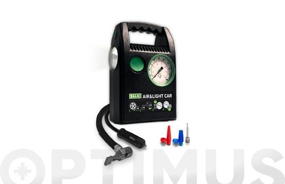 Mini compresor de aire air & light car 12 v