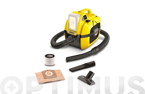 Aspirador seco - humedo bateria 18 v wd 1 sin bateria