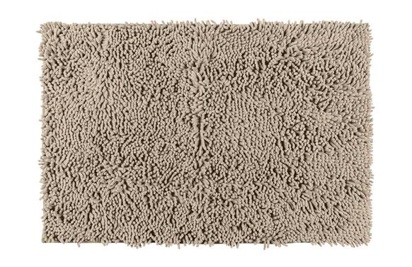 Alfombra baño chenille arena 50 x 80 cm