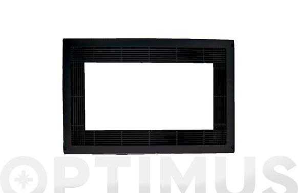 Marco microondas plastico efecto inox 60 x 40 cm
