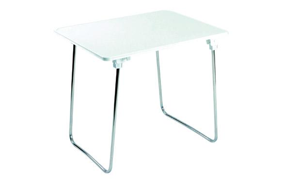 Mesa camping plegable patas aluminio 80 x 60 cm