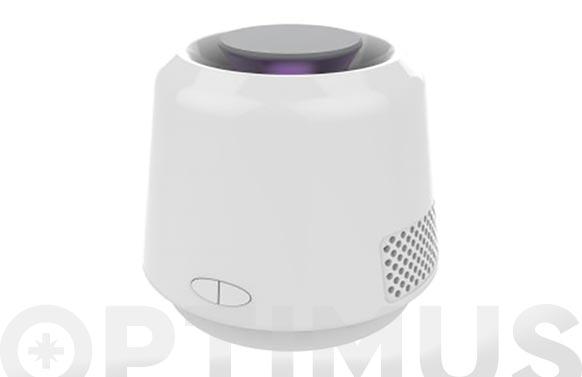 Atrapa mosquitos led blanco portatil conexión cable micro usb