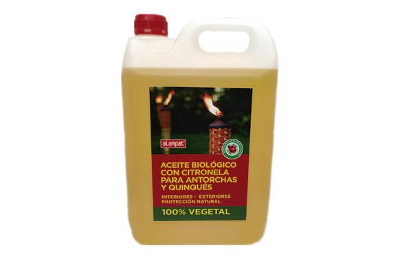 Aceite biologico para antorchas con citronela 5 l