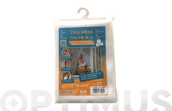 Mosquitera magnetica para ventana blanca 150 x 180 cm