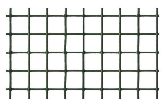Malla electrosoldada galvanizada 19 x 19 mm verde 1 x 5 m
