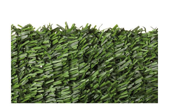 Seto artificial bicolor maxi hoja ancha 1,5 x 3 m
