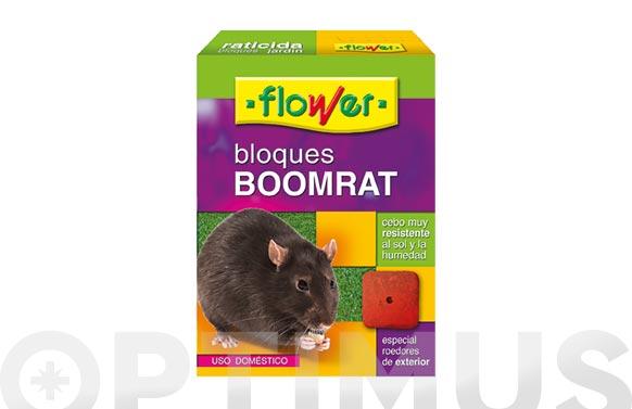 Raticida bloque regalo caja portacebos ratones 200 grs