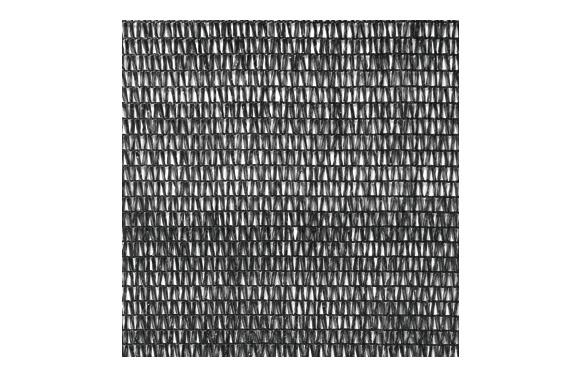 Malla sombreadora pe/rf 70. 4 x 8  m negro