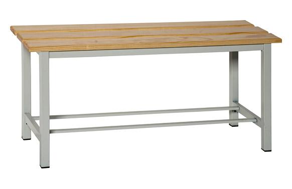 Banco de vestuario simonlocker wood bench 1 m