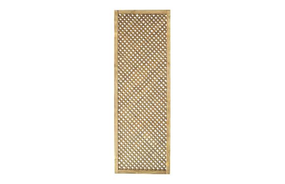 Celosia madera pino clematite con marco 60 x 180 cm