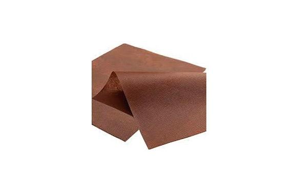Malla antihierbas geotextil 80 gr marron 1 x10 mt