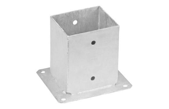 Pletina cuadrada base plana 121 x 150 x 200 mm