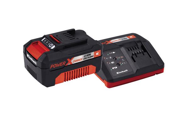 Cargador + bateria power-x 18v 4.0 ah